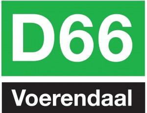 D66 Voerendaal logo